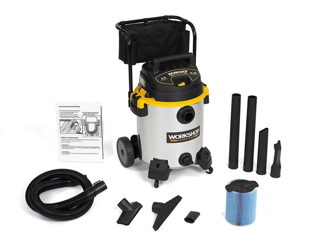 Top 5 Best Wet Dry Vacuum Cleaner For Home Reviews 2019
