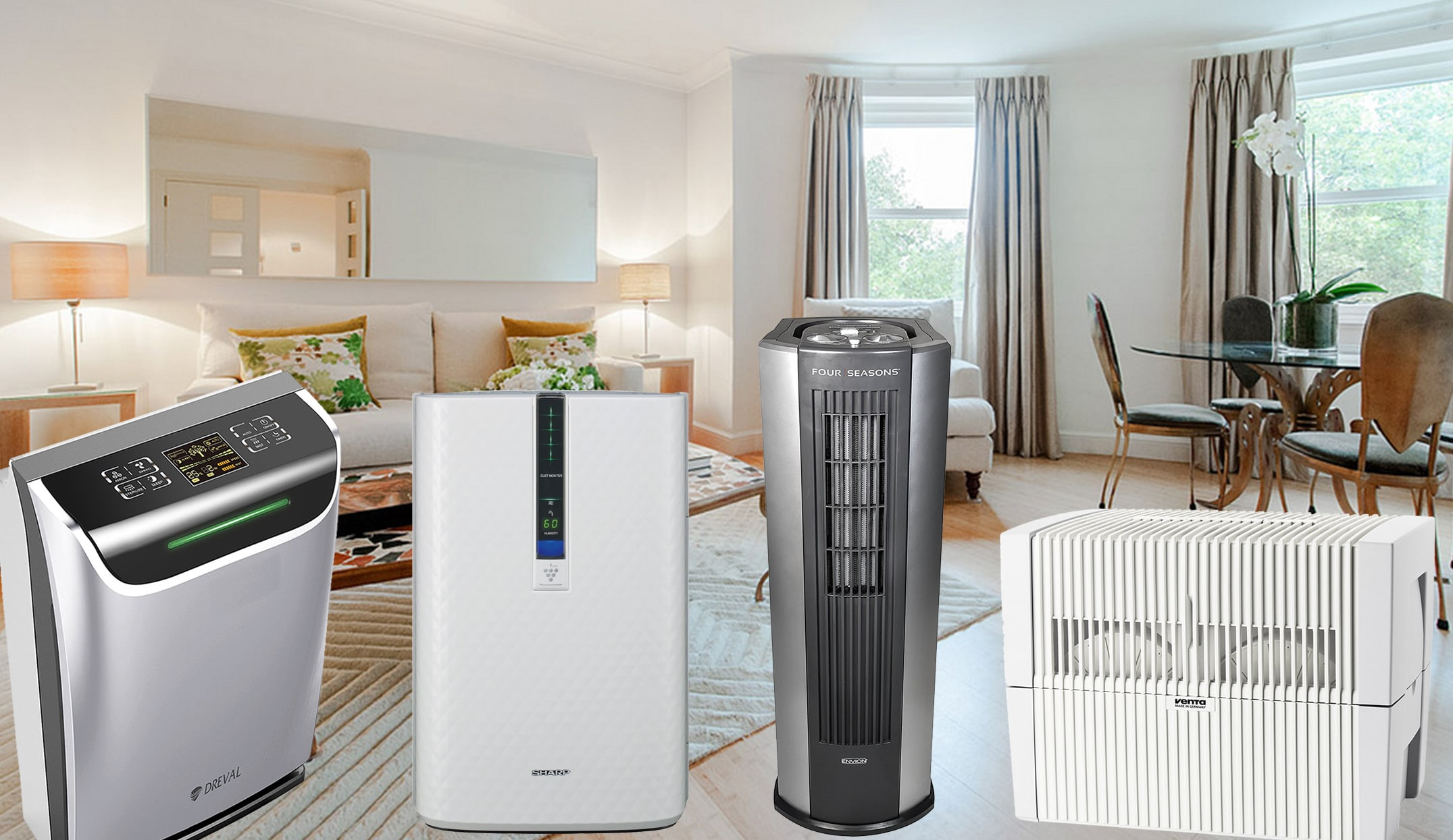 How to choose a humidifier-air purifier: types, tips on choosing a review of the best models 75