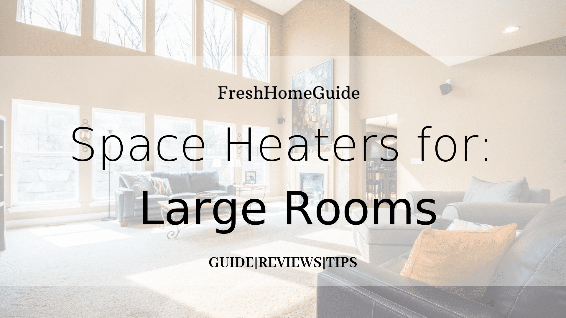 Top 5 Best Space Heaters For Large Rooms | [Read our #1 Pick!]