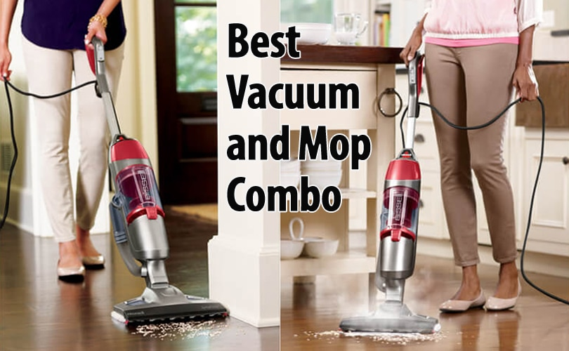 Vacuum and mop at the same time combo in one