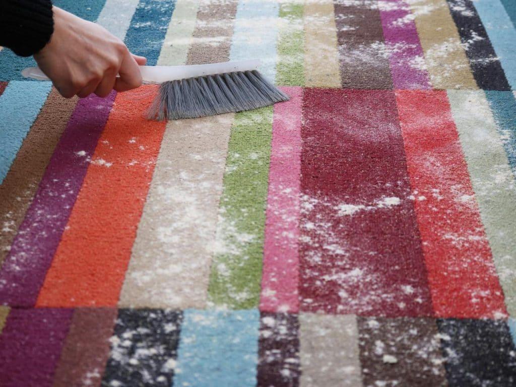 carpet powder cleaning method
