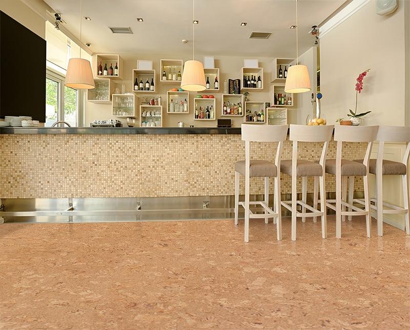 cork flooring example