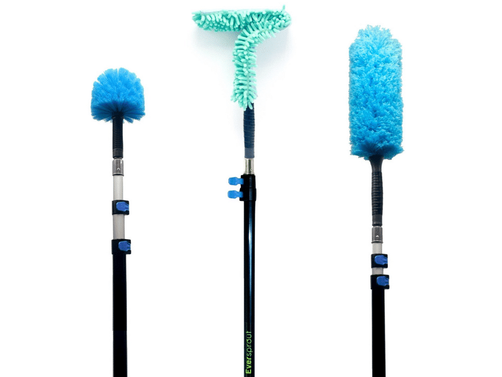 EVERSPROUT Duster 3-Pack with Extension-Pole