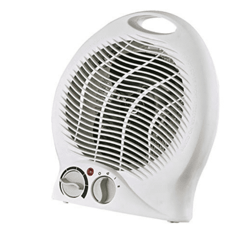 Optimus Portable 2-Speed Fan Heater with Thermostat