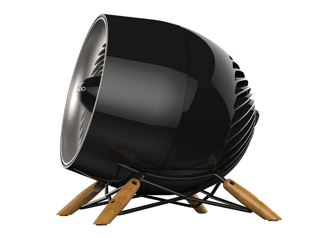 Product image from the side of vornado glide vortex heater