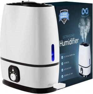 product image of Everlasting Comfort Ultrasonic Cool Mist Humidifier