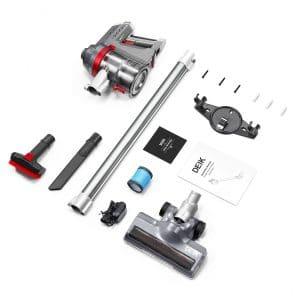 product image of Deik Cordless Vacuum Cleaner, 2 in 1 Stick Handheld Vacuum different parts