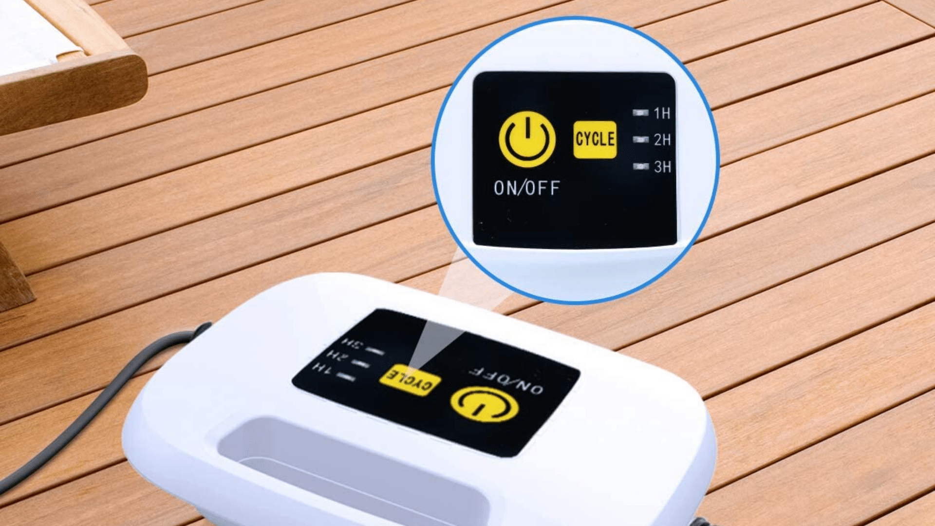 picture of AIPER Automatic Robotic Pool Cleaner Settings feature