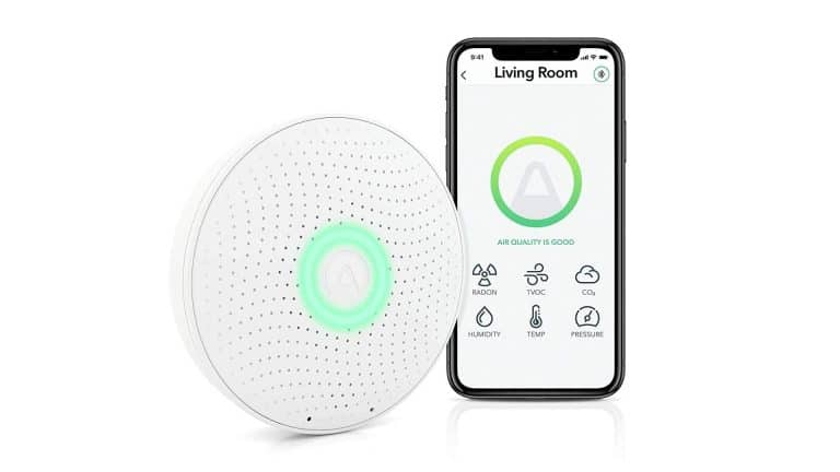 Product Image of Airthings Wave Plus Indoor Air Quality Monitor
