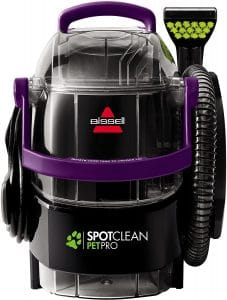 BISSELL SpotClean Pet Pro Portable Carpet Cleaner, 2458