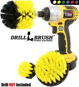 product image of Drillbrush Bathroom Surfaces Tub, Shower, Tile and Grout All Purpose Power Scrubber Cleaning Kit