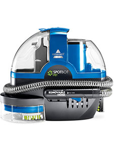 Bissell 2117A SpotBot Pet handsfree Spot and Stain Portable Deep Cleaner, Blue