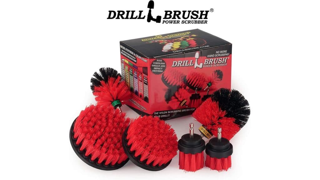 Product image of Cleaning Supplies - Drill Brush - The Ultimate Stiff Bristle Cleaning Attachment Kit