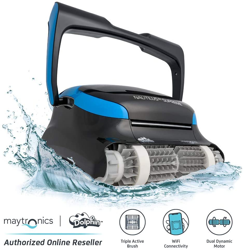 DOLPHIN Nautilus CC Supreme Automatic Robotic Pool Cleaner