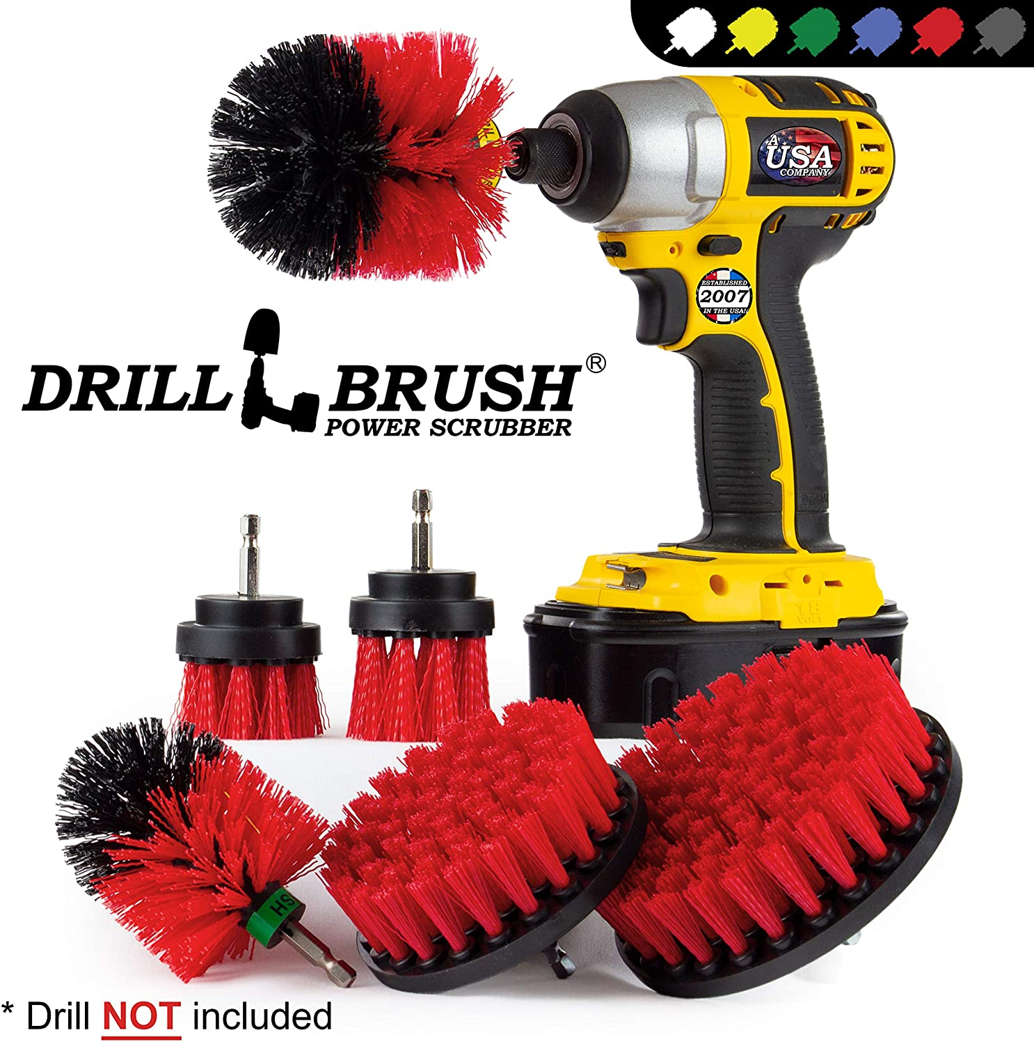 product image of Drill Brush-Attachment-Set.