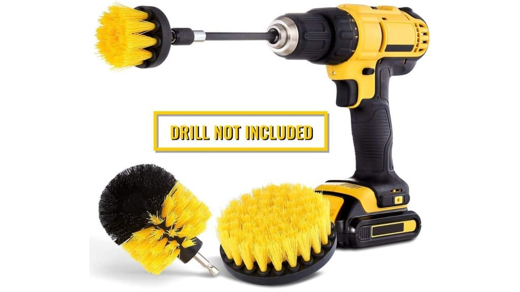 image of HIWARE Drill Brush Attachment Set