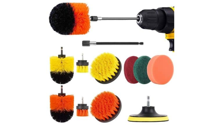 product image of the Herrfilk Drill Brush Attachment Set