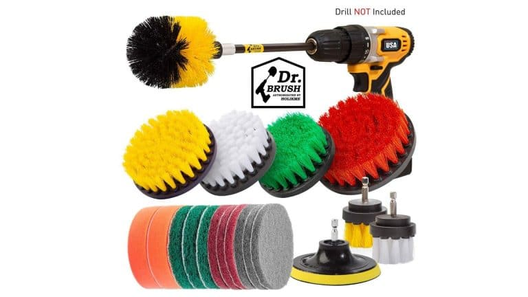 product image of Holikme 20 Piece Drill Brush Attachments Set