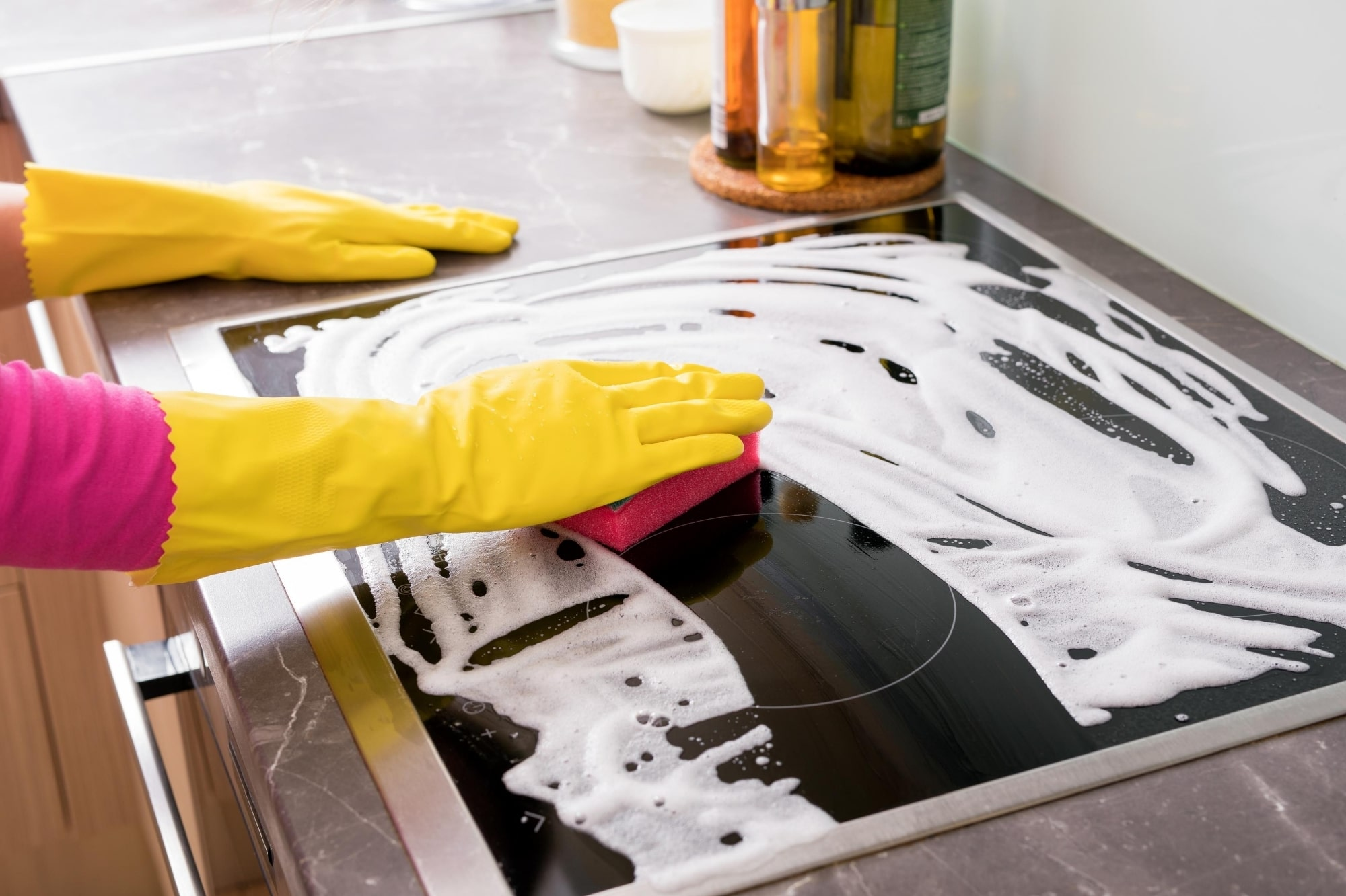 How to Clean a Stove Top Gas, Electric, and Induction