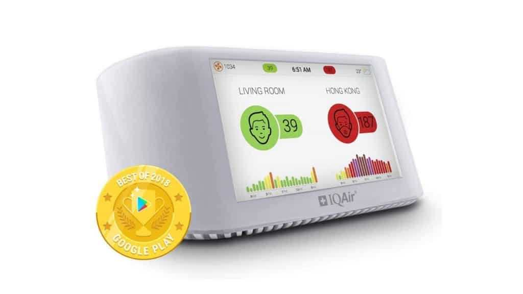 Product image of IQAir [AirVisual Pro] Smart Indoor & Outdoor Air Quality Monitor