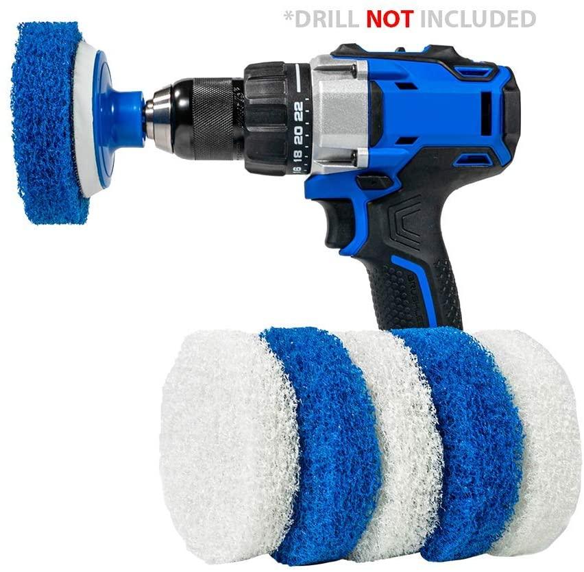 Product image of RotoScrub 7 Pack Multi-Purpose Drill Brush Kit
