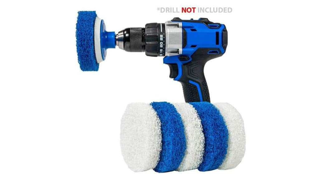 product image of rotoscrub bathroom cleaning drill brush