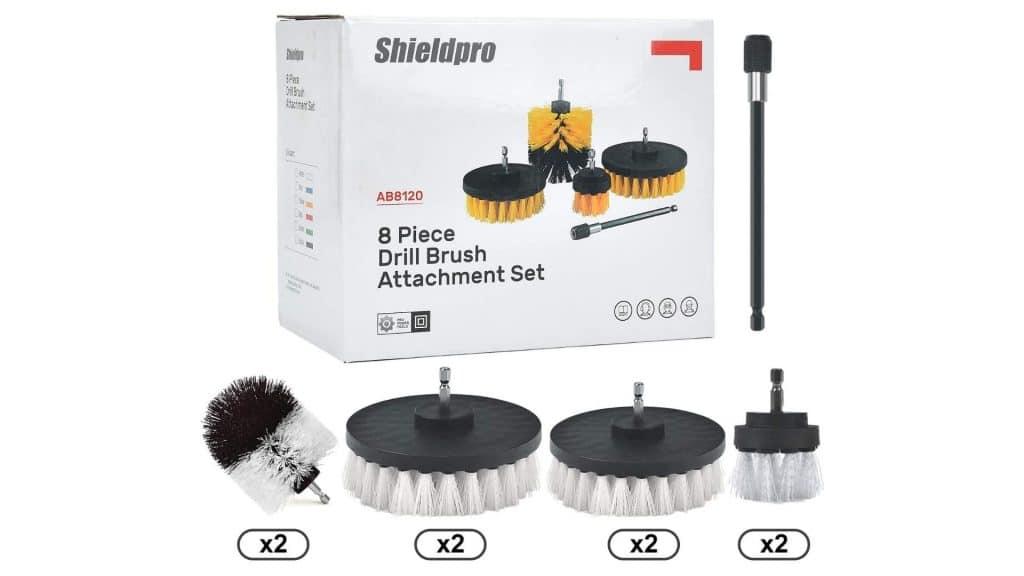 picture of Sheildpro Drill Brush Attachment Set box