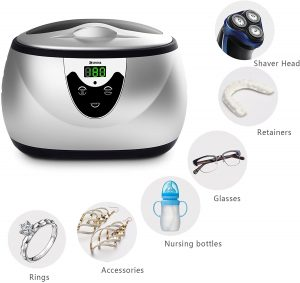 picture of Ukoke, UUC06S, Ultrasonic Cleaner, Professional Ultrasonic Jewelry Cleaner Features