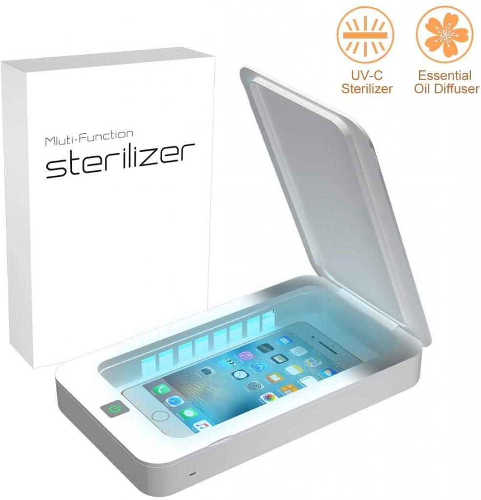 product image of Yasolote Phone Uv Sanitizer, Portable UV Light Cell Phone Sterilizer,