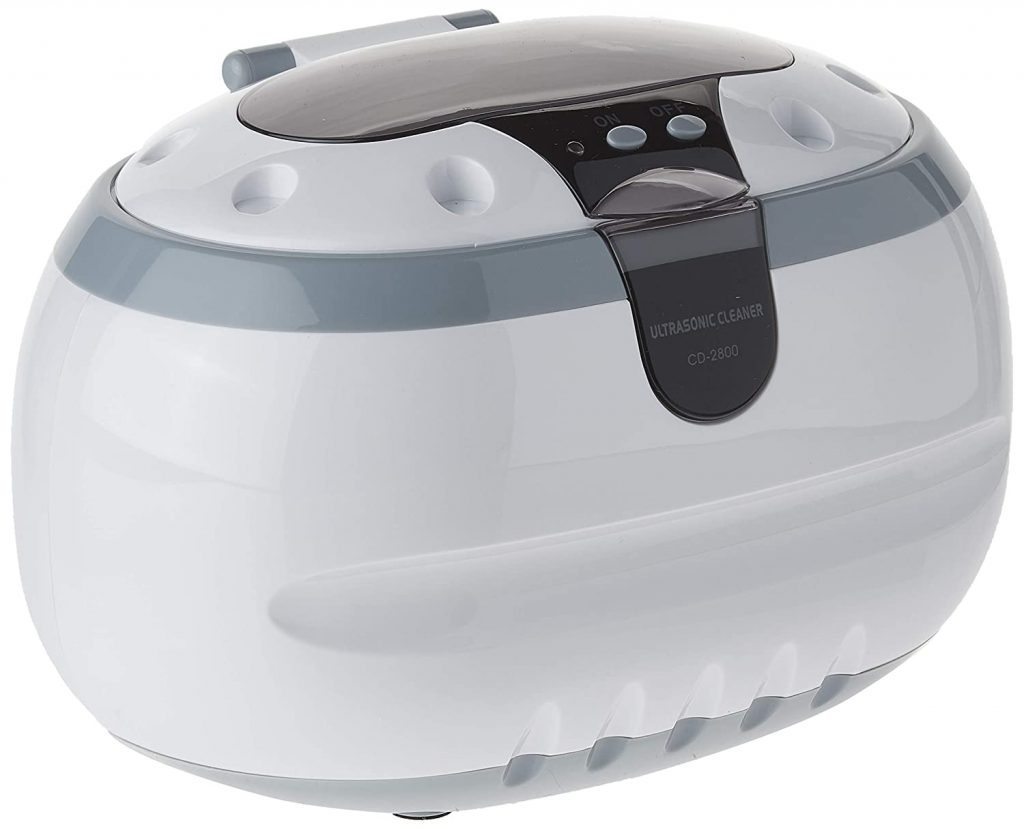 product image of Sonic Wave CD-2800 Ultrasonic Jewelry & Eyeglass Cleaner (White/Gray)(package may vary)